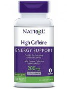 Natrol High Caffeine 200 мг 100 таб