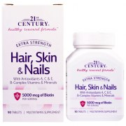 Заказать 21st Century Hair Skin & Nails Extra Strength 90 таб